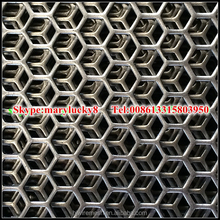 Cold rolled hexagonal perforated metal prices/Perforated metal sheet prices