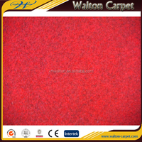 Non-woven wall to wall polyester plain sample room carpet