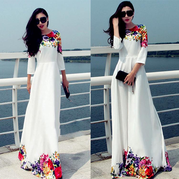 Длинное платье в пол на свадьбу