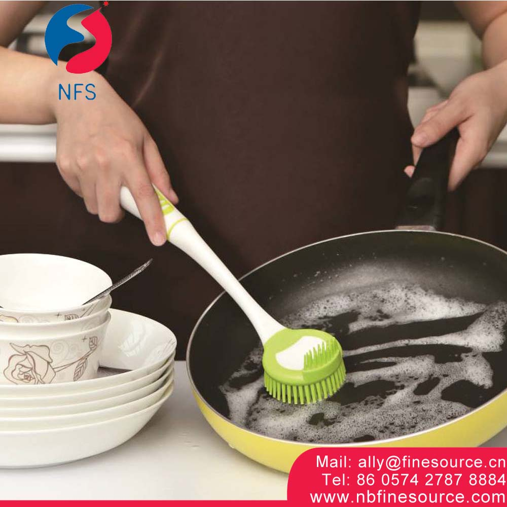 Professional Kitchen Wash Dish Silicone Clean Brush