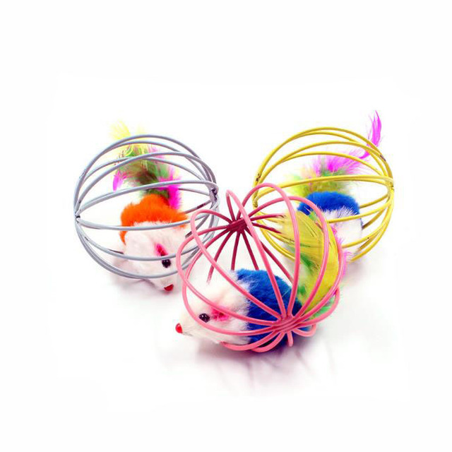 Cat toy mouse rabbit cage ball cat toy pet toy
