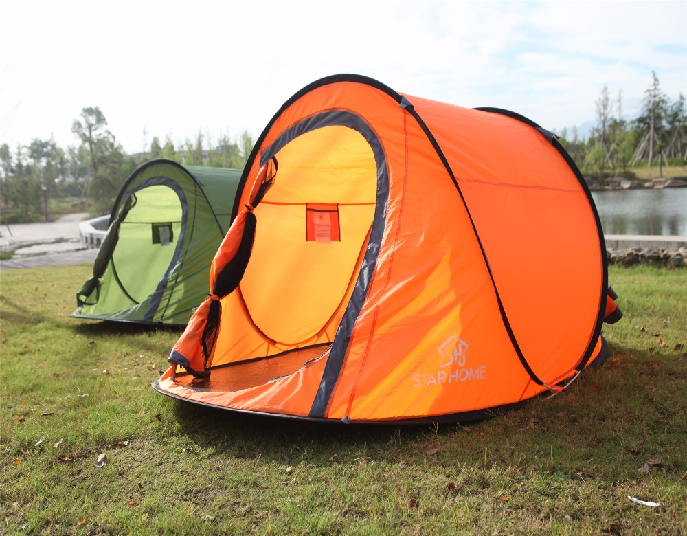 STAR HOME convenient backpacking tents tall pop up tent
