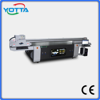 Digital flatbed uv printer/ uv flatbed the printer price