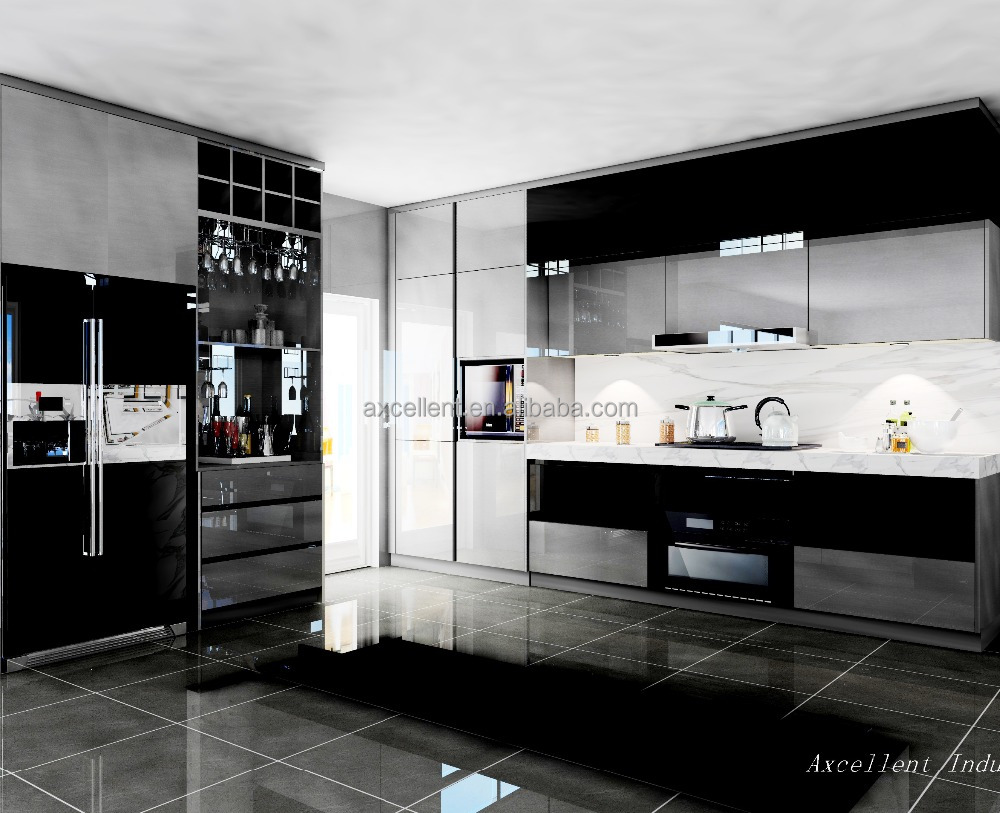 China Supplier Aluminium Philippines Modular Kitchen,Home Integrated ...