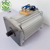 SHINEGLE AC traction 4kw 3 phase ev electric motor AC