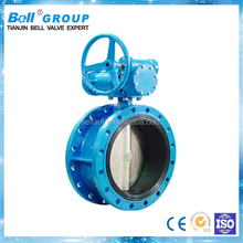 DN150 Double Flange Butterfly Valve