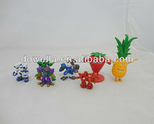 Mini Custom Plastic PVC Figures Decorations Kids Collections Promotion Gifts