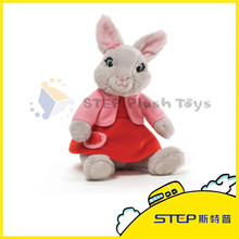 2015 Custom New Design Stuffed&Plush Toy Rabbit/Bunny for Kids Best Gift