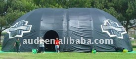 40' wide by 60' long by 20' tall Inflatable Dome Tent