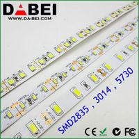Hot super bright 12v 3014 nature white led strip 60/120/240 leds per meter made in China