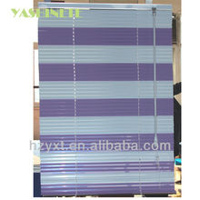 S Shape PVC Mix-color Window Blinds/curtains