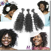 Direct Factory best quality mongolian kinky curly hair weave 4a