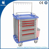 BT-IY005 Large size hospital room patient crash cart equipment