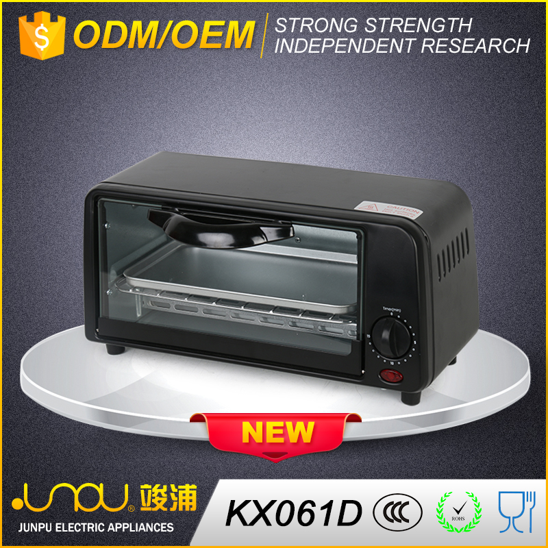 Factory deirectly new style small kitchen desktop toaster oven sale