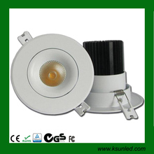 90Ra Dimmable Recessed round 6 inch led downlight,IP44 led downlight led