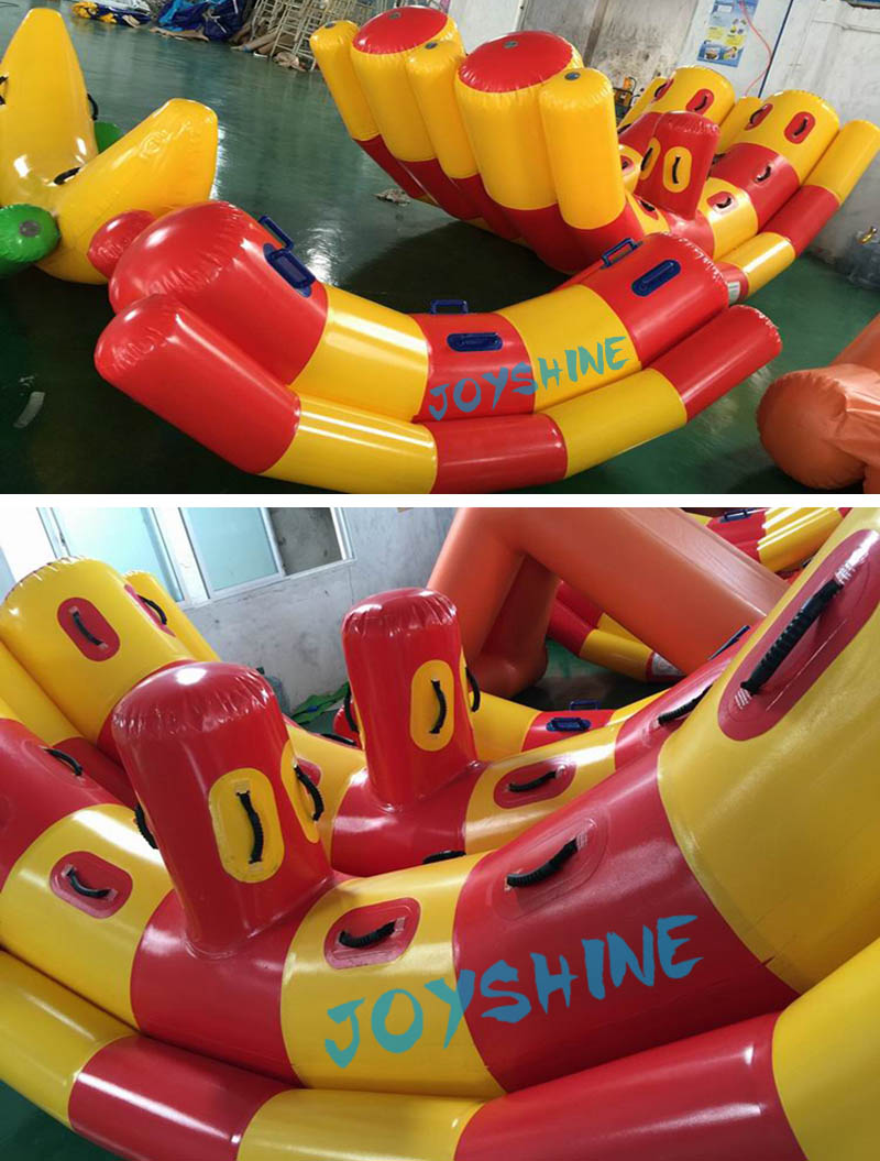 Children Kids Adult Water Game Pool Toy Inflatable Teetertotter Water Float Seesaw Rocker Water Totter Tteeterboard For Sale
