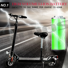 The World's Lightest Folding Mini Electric Scooter with bluetooth and LED