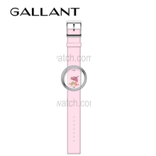 Ladies fashion quartz movement leather wrist watch online