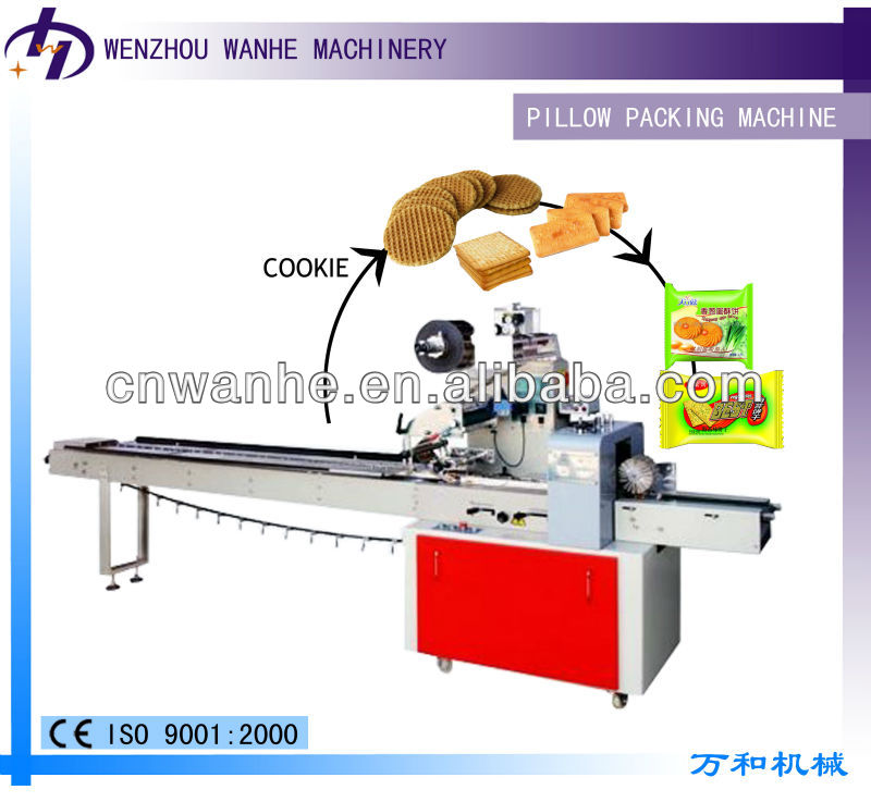 KD-260 High-Speed pillow packing machine for food