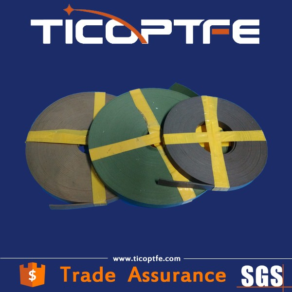 PTFE guide tape/ teflon wear strip