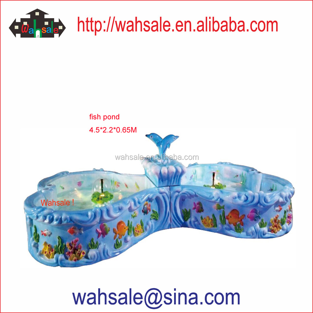 Hot sale kids fishing pond game machine direct from factory