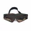 Cool Lining Sleeping Army Green Eye Mask/ Wide Elasticated Head Band Blindfold Novelty Toys