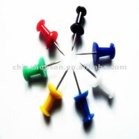 hot selling colourful high quality plastic push pin for glue bottle