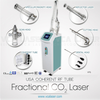 6 in 1 smoke free fractional CO2 laser machie for surgical use