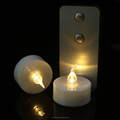 Led Plastic Battery Operated Tea Lights Flameless Led Votive Candles With Remote
