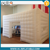 Hottest large inflatable cube structure tent,inflatable party tent for event