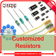 New and orginal metal film smd resistor high temperature electrical resistance