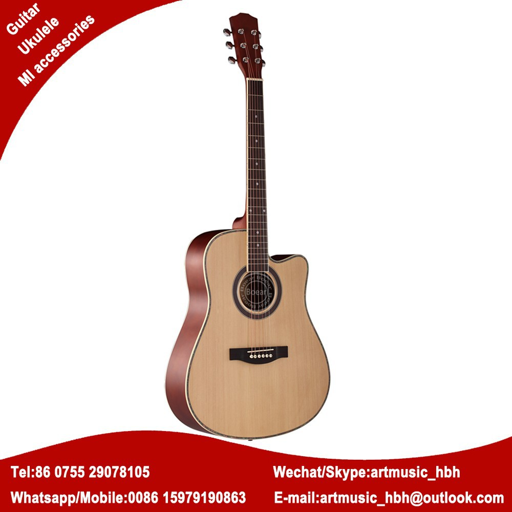 wholesale spruce top acoustic guitar musical instruments store