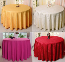 cheap decorative round fancy wedding table cloths