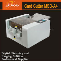 Alibaba China Manufacturer Factory Supplier Full-Automatic MSD-A4 Business Business smart card cutter