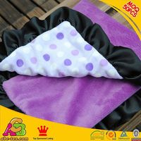 10PCS MOQ customized designs 2 layers Oeko Tex 100 Europe fashion babies blanket soft