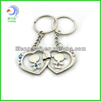 Cheap Wedding Gifts For Couples : 2014 hot selling cheap small couple keychain wedding gifts for guests ...