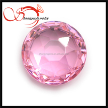 04# Round rose cut cz Special shape gemstones