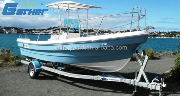 Gather 6.8m top Quality High Speed Panga Boat motor Boat