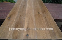 Wholesale antik smoked and brushed engineered wood flooring from Changzhou Factory