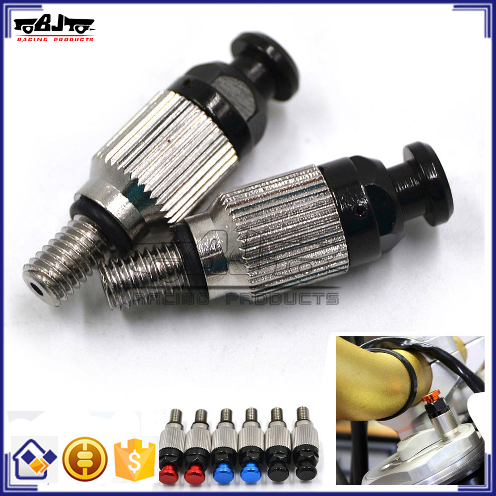 BJ-FBV-001A China Black Fork Bleeder Air Pressure Relief Valves Motocross