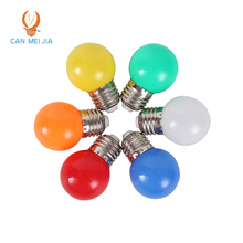 Wholesale Home Lighting RGB Colorful Led Bulb E27 3w Energy Saving White Red Blue Green Yellow Orange Pink Lamp Light Smd 2835