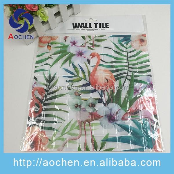 Fábrica China OEM gel de tipo mosaico azulejo de la pared ...