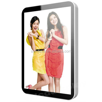 47 Inch Wall Mount Indoor Android WiFi LCD Advertising Signage Frames