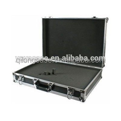 carrying aluminum metal tools case hard tool case with cut foam