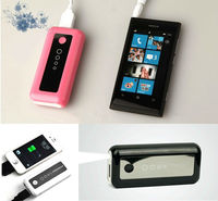 2013 New 5600mah Rubber finishing portable power bank 2013 Best Universal Portable Power Bank