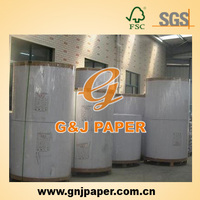 Recycled Pulp Clay Coated Duplex Board Grey Back Paper