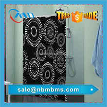 Custom Polyester Printed Shower Curtain Beads