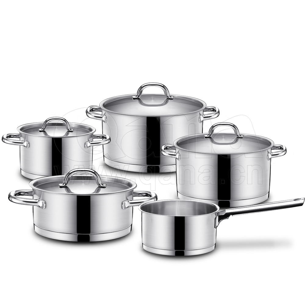 Wholesale high quality Stainless Steel cookware Stew Pot with Lid