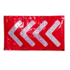 Gold Supplier Custom Reflective Safety Electronic Flashing Led Stop Arrow Road Warning Traffic Sign Board