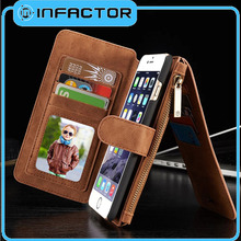2016 hot selling flip pouch sleeve leather case for iphone5c